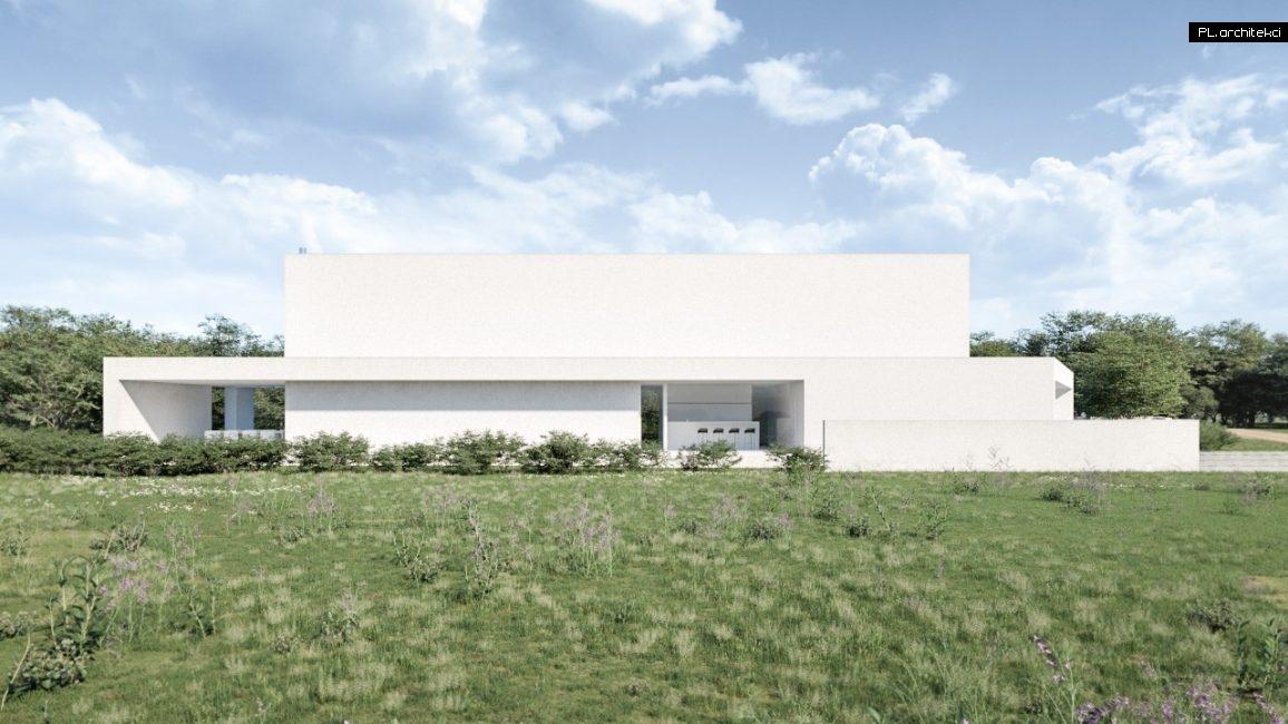 dom nowoczesny projektu architektów z Poznania PL.architekci