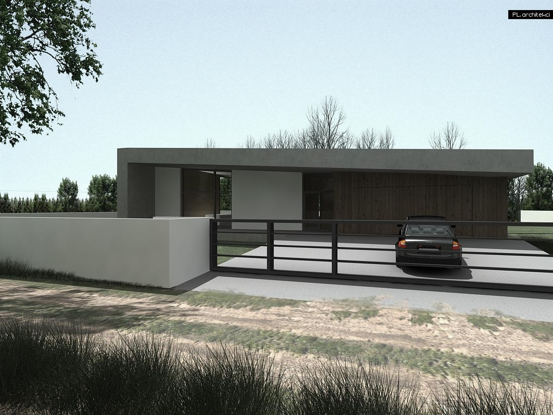 Minimalistyczny dom jednorodzinny | Bydgoszcz