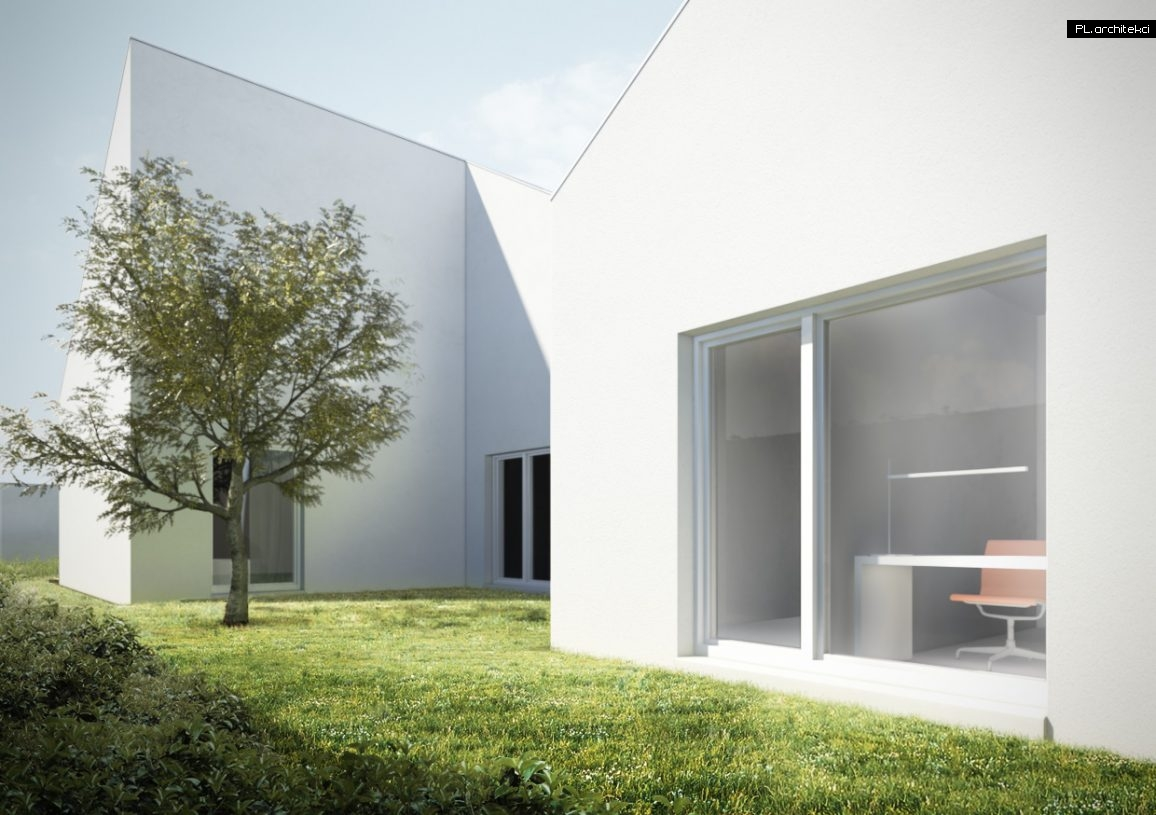 Nowoczesny dom minimalistyczny   Głogów