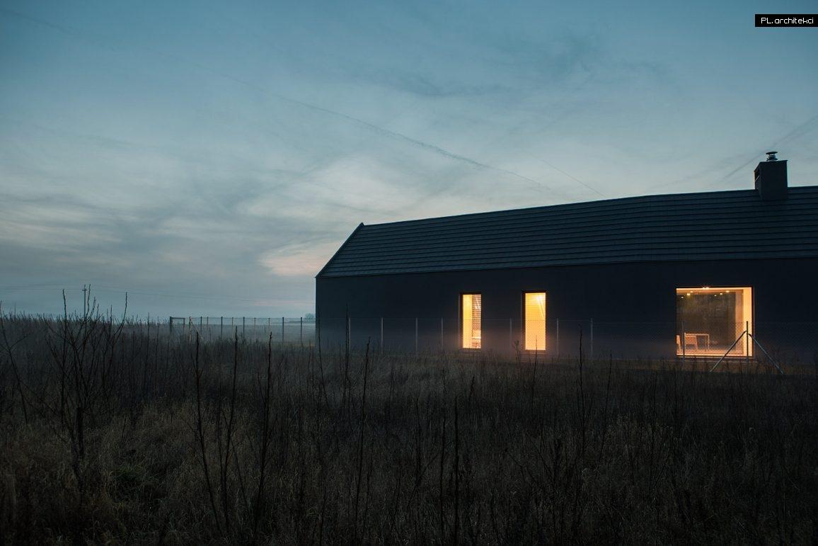 Nowoczesny dom stodoła | Ceradz Kościelny