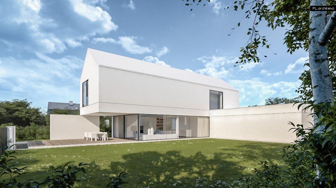Nowoczesny dom jednorodzinny zaprojektowany przez architekta z Poznania