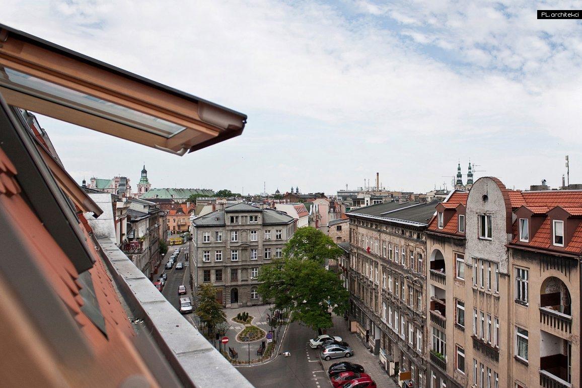 Widok z okna kawalerki | Poznań