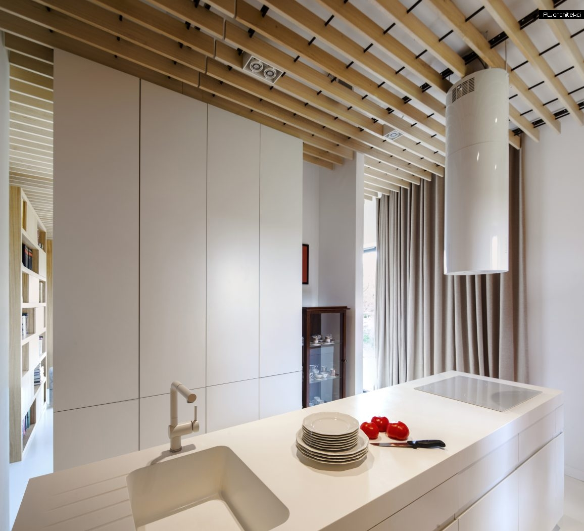 Nowoczesne wnętrze apartamentu: kuchnia | Warzelnia, Poznań