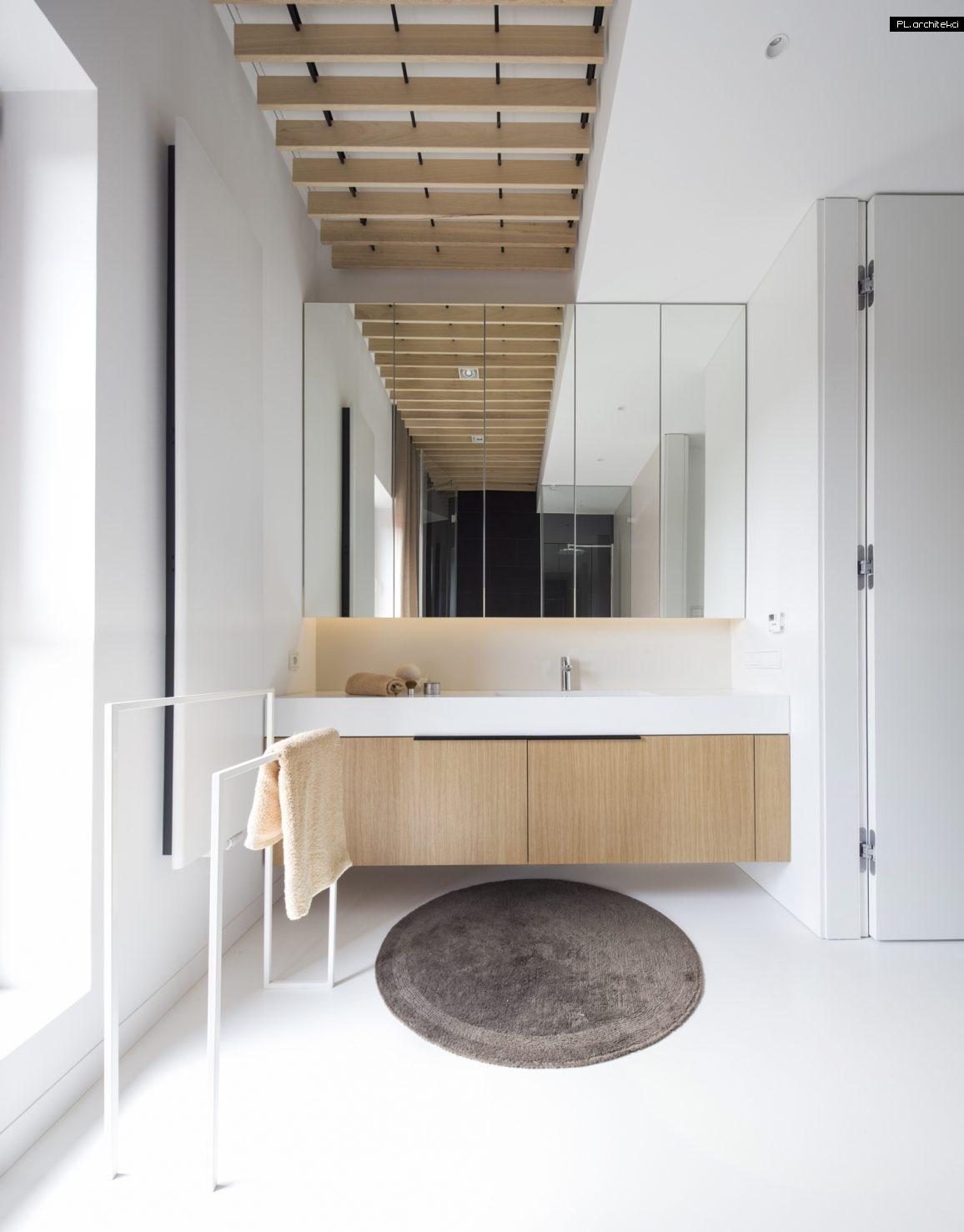 Nowoczesne wnętrze apartamentu: łazienka | Warzelnia, Poznań