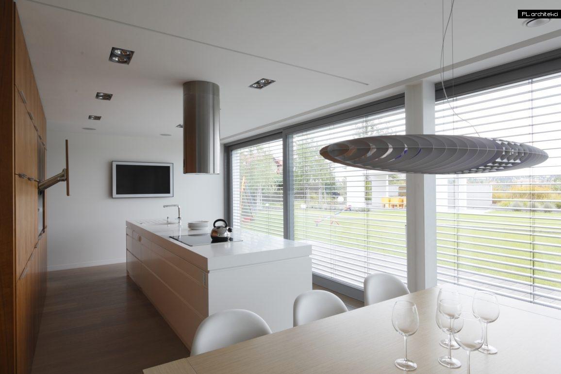 Wnętrze nowoczesnego domu jednorodzinnego - stodoły | Lusowo
