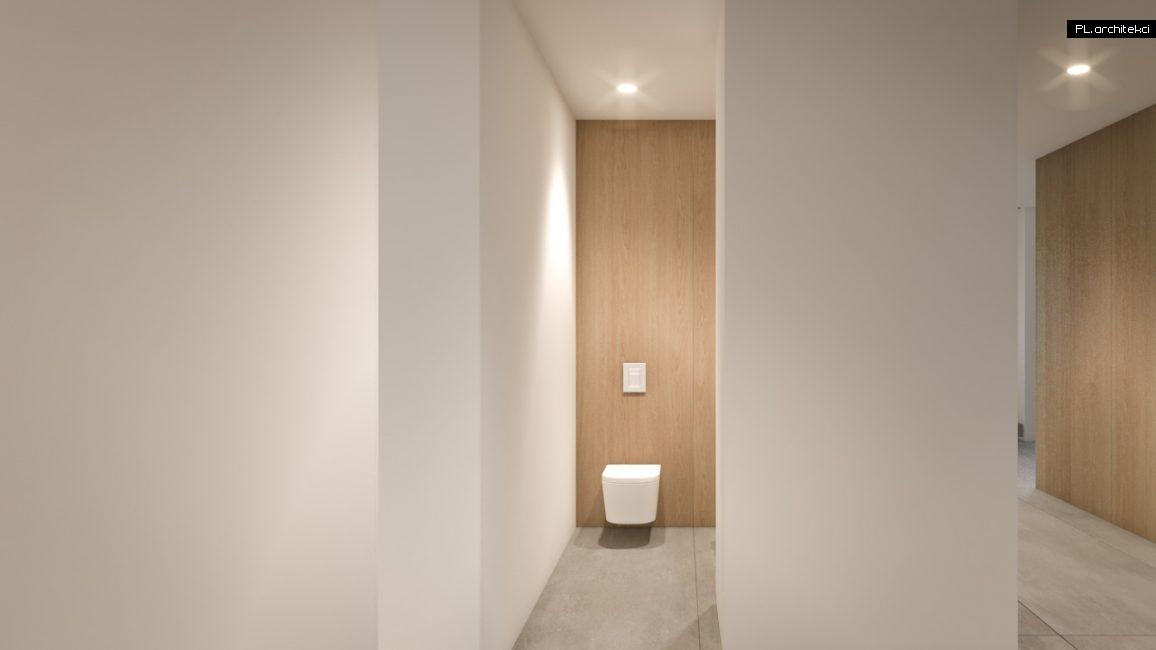 Nowoczesne wnętrze domu jednorodzinnego: łazienka | Poznań