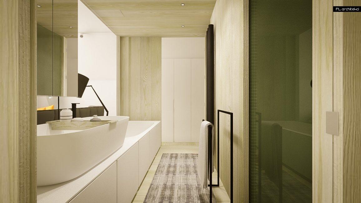Nowoczesne wnętrze domu jednorodzinnego: łazienka | Puszczykowo