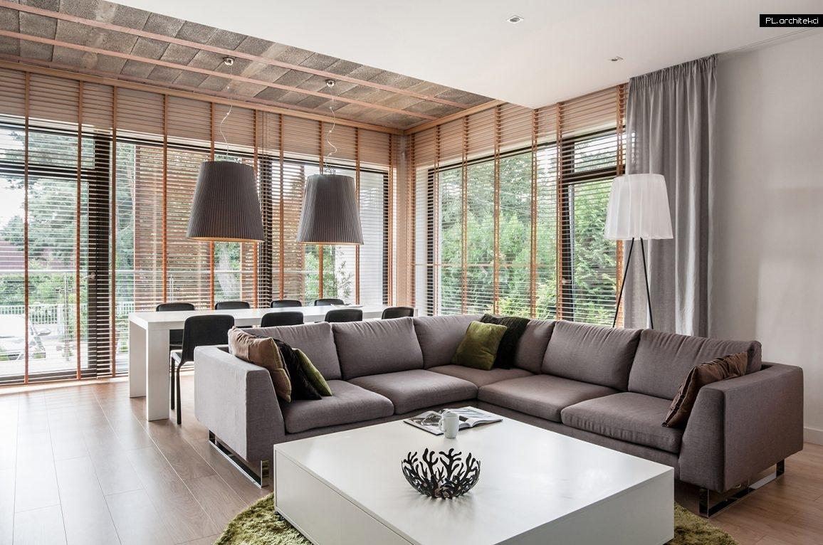 Nowoczesne wnętrze apartamentu: salon | Suchy Las