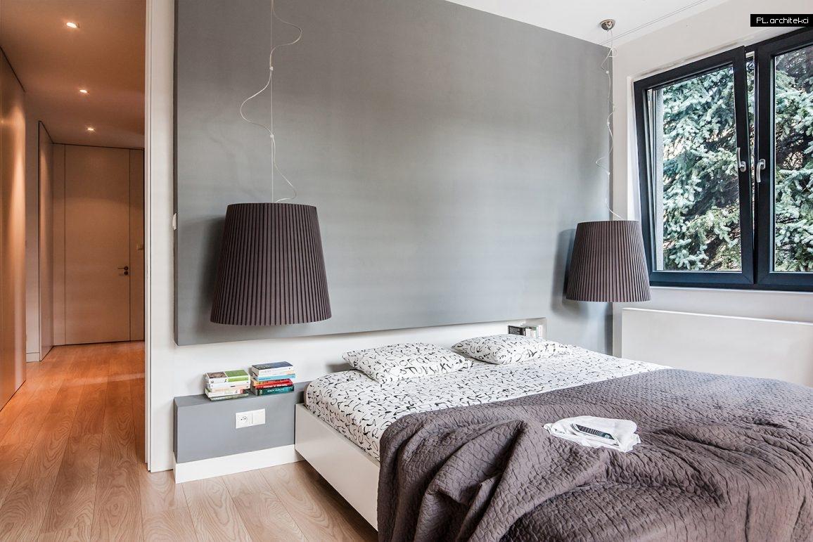Nowoczesne wnętrze apartamentu: sypialnia | Suchy Las