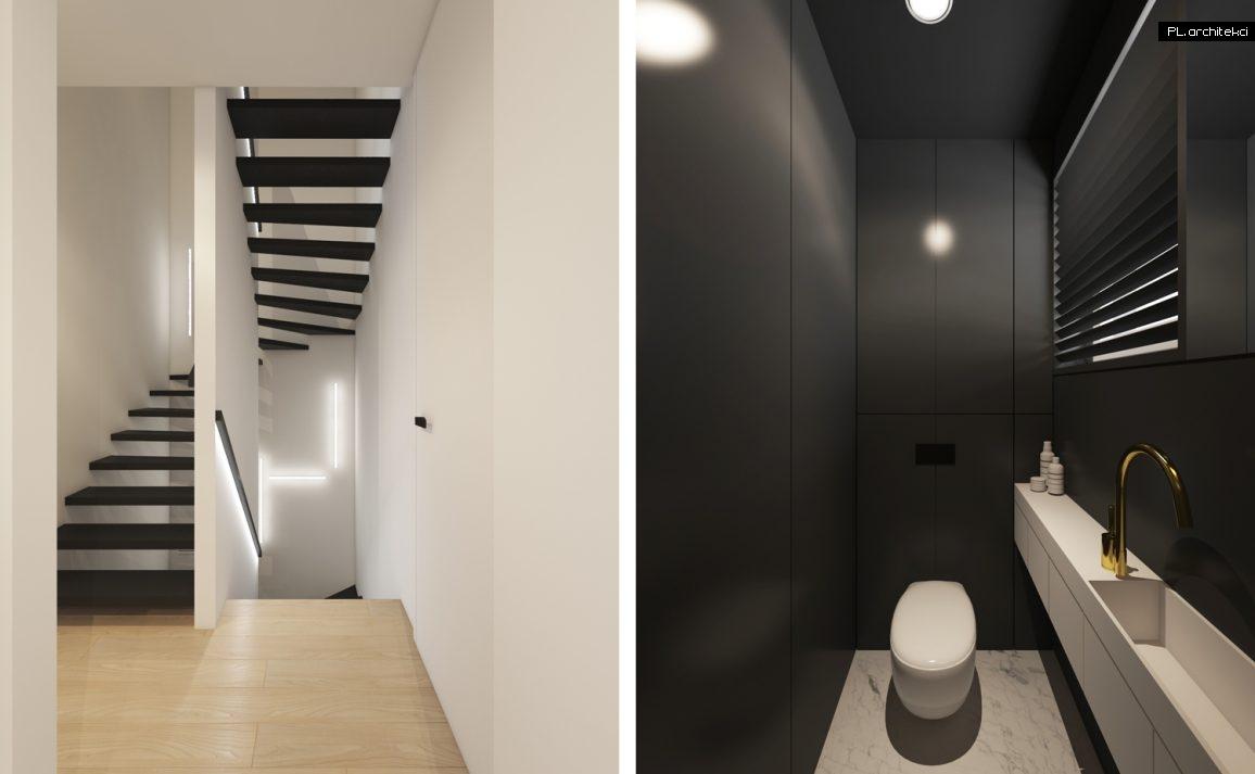 Wnętrze dwupoziomowego apartamentu | Poznań